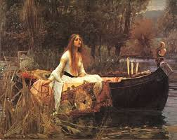 lady of shalott painting