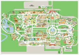 brookfield zoo map