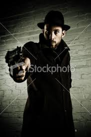 man in trenchcoat
