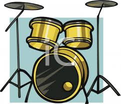 animated drum set