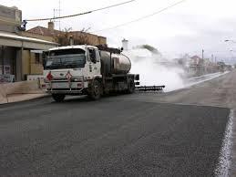 hot bitumen