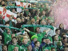 irish football fans