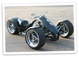 three wheeled motorbike