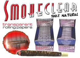 clear cigarette papers