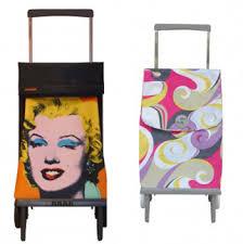 modern shopping trolleys