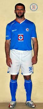 cruz azul uniforme
