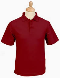 maroon polo shirts