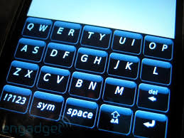 blackberry storm with keyboard