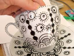 decorated cup