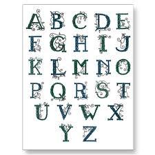 alphabet celtic