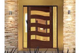 contemporary external door