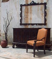 old dining chair