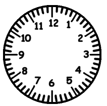 clock faces clip art