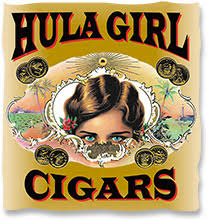 hula girl cigars