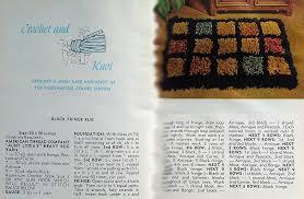 crochet rug instructions