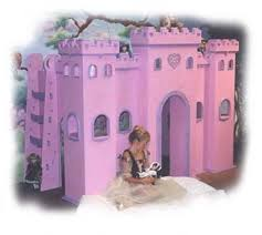 girls castle beds