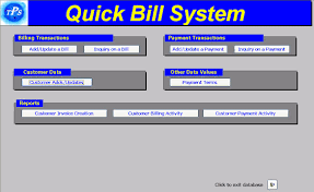 bill system