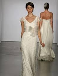 natural wedding dress