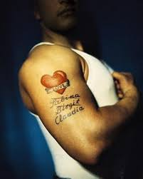 heart tattoos for guys