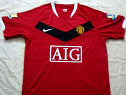 2010 manchester united jersey