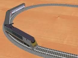 model train 3d