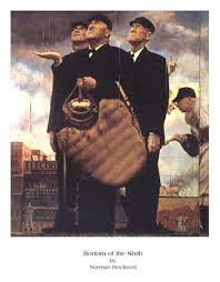 norman rockwell bottom of the sixth