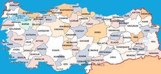 turkiye haritasi sehirler