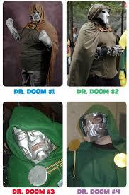 dr doom costumes
