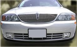 lincoln ls chrome grill