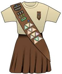 girl scouts brownie uniform