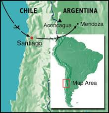 cerro aconcagua map