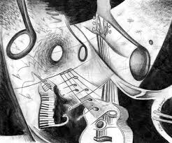 music abstract art