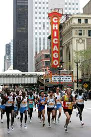 chicago marathon photos