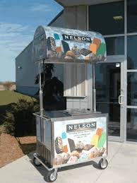 ice cream push carts