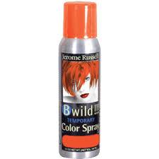 orange hair gel