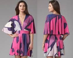 mini kimono dress