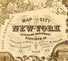 old map of new york city