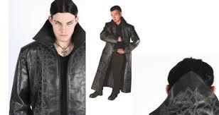 goth leather jacket