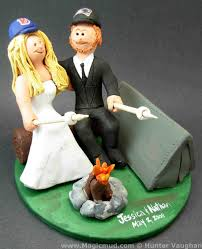 camping cake toppers