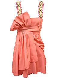 matthew williamson coral dress
