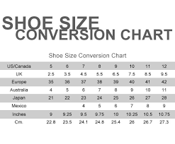 baby shoe size guide