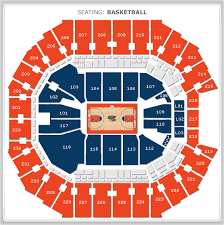 arena seating map