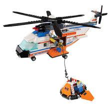 lego coastguard helicopter