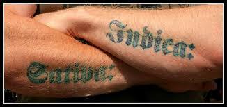 latin tattoo art