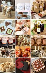 fall wedding favours