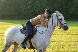 girl horses