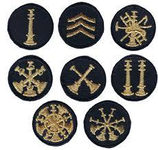 firefighter rank insignia