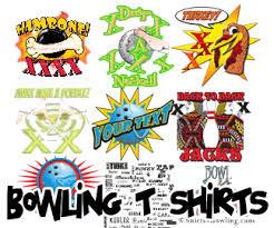bowling tshirt