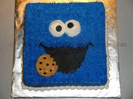 sesame street birthday cake ideas