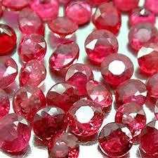 rubies stones